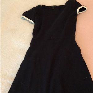 Dark navy jcrew dress